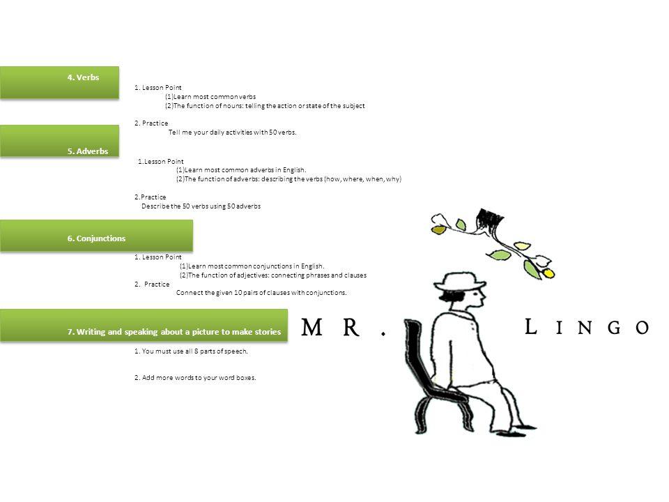 Mr  Lingo's Mr  Lingo's English for Beginners  LESSON PLAN 1