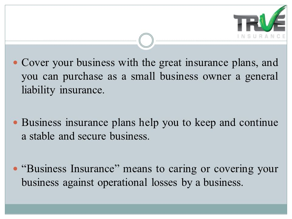 small business insurance plans