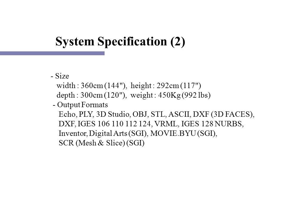 Whole Body Color 3D Scanner by Cyberware (www  cyberware com