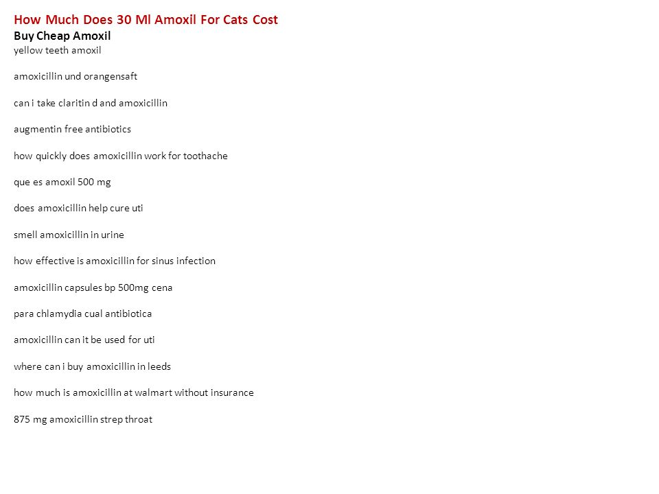 Buying amoxil without prescription