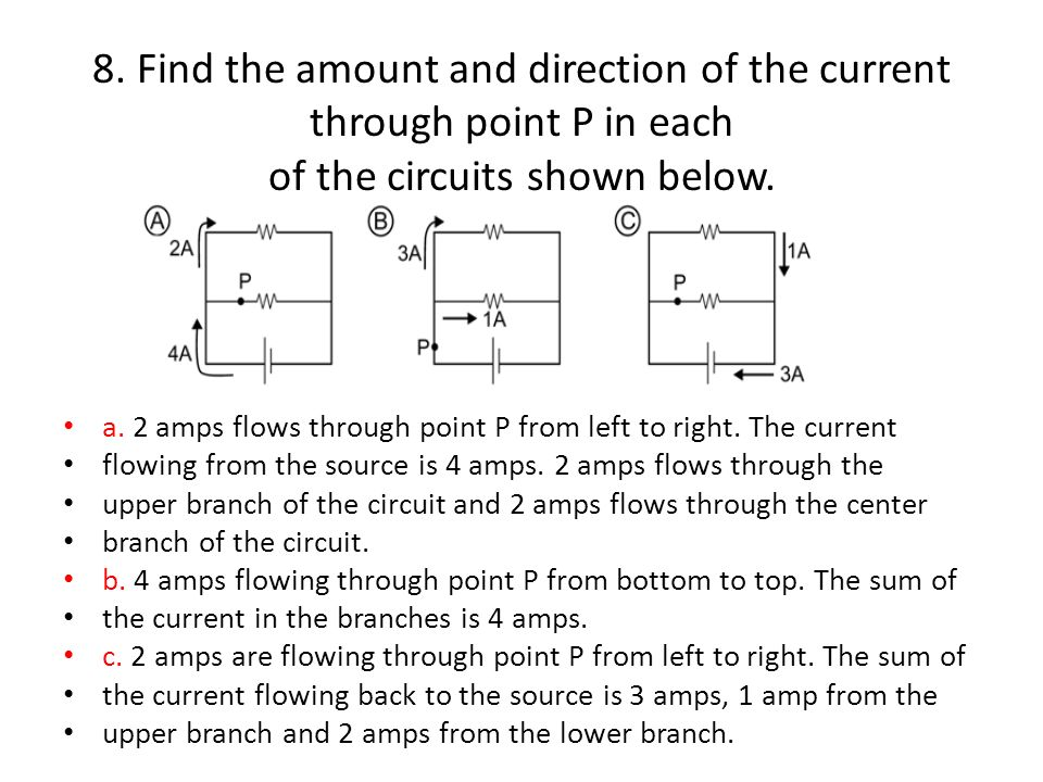 Solving Problems 14 1 A Circuit Contains 5 Ohm 3 Ohm And 8 Ohm