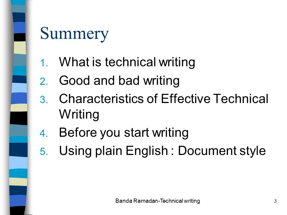 Howto Enhance Your Technical Writing Skills