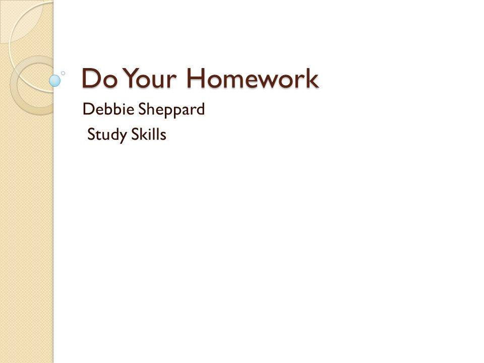 The Need for a Homework Helper: Professional Advice