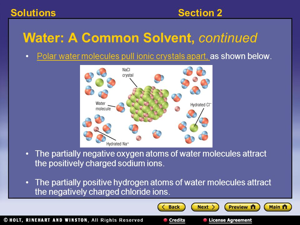 what is called the universal solvent