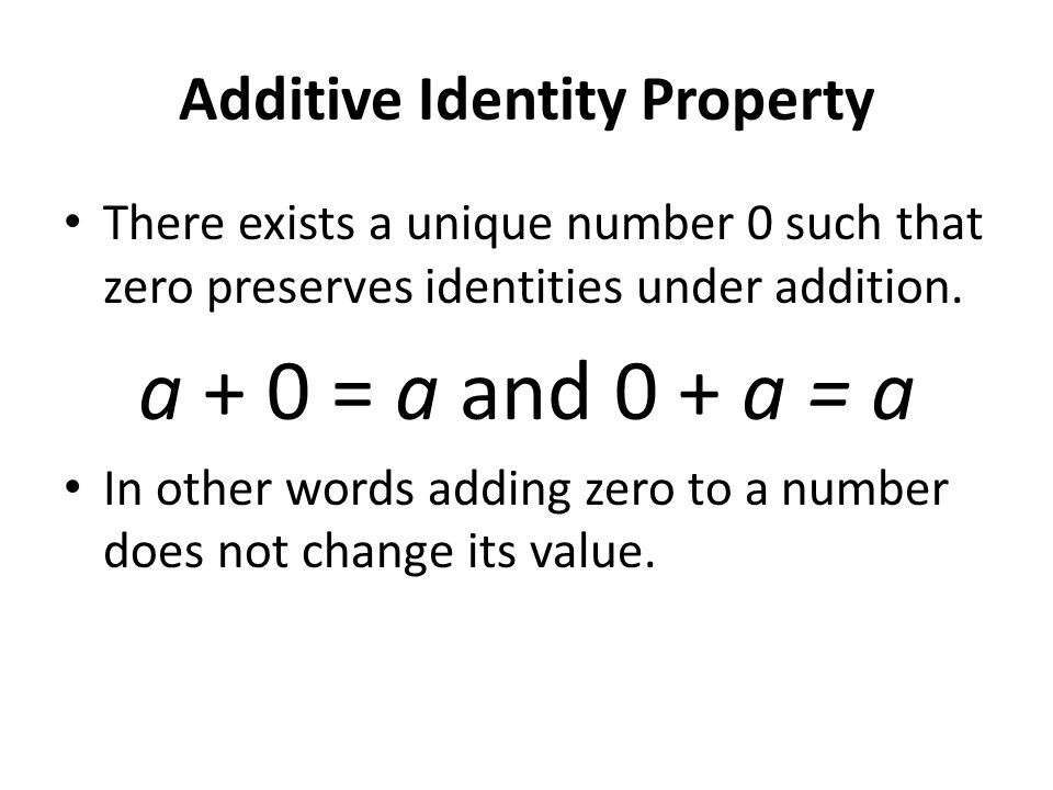 Distributive Property Multiplication distributes over addition.