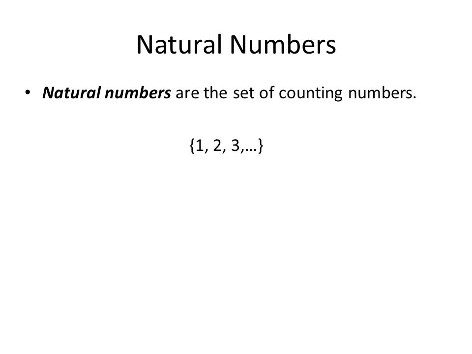 Real Numbers Real numbers consist of all the rational and irrational numbers.
