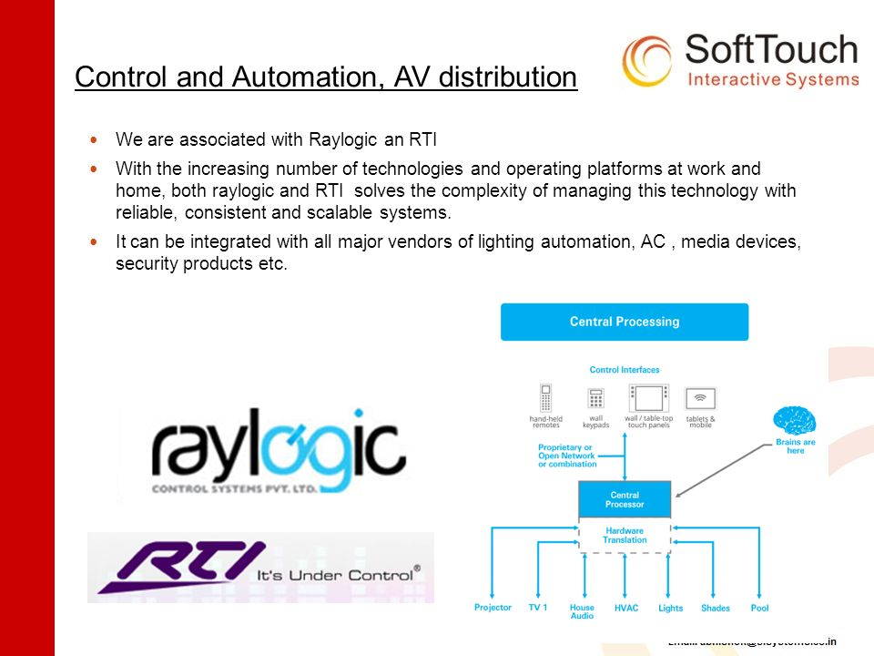 Company Profile & Solution Portfolio SoftTouch Interactive Systems
