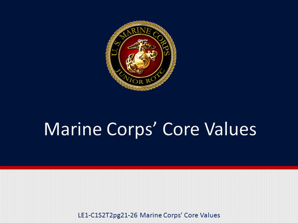 1000 word essay on marine corps core values Legacy us navy web content i am a united states sailor i will support and defend the constitution of the united states of america and i will obey the orders of those appointed over me.