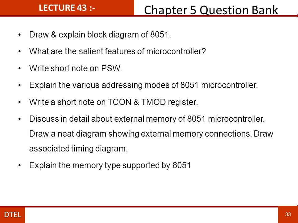 Department Of Electronics Engineering V Semester Microprocessor