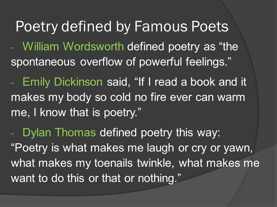 Definition of adult poetry