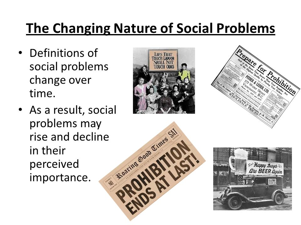 Chapter 1: Understanding Social Problems  Personal vs