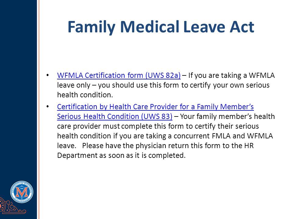 Family Medical Leave Act What Is Fmla Fmla Refers To The Family