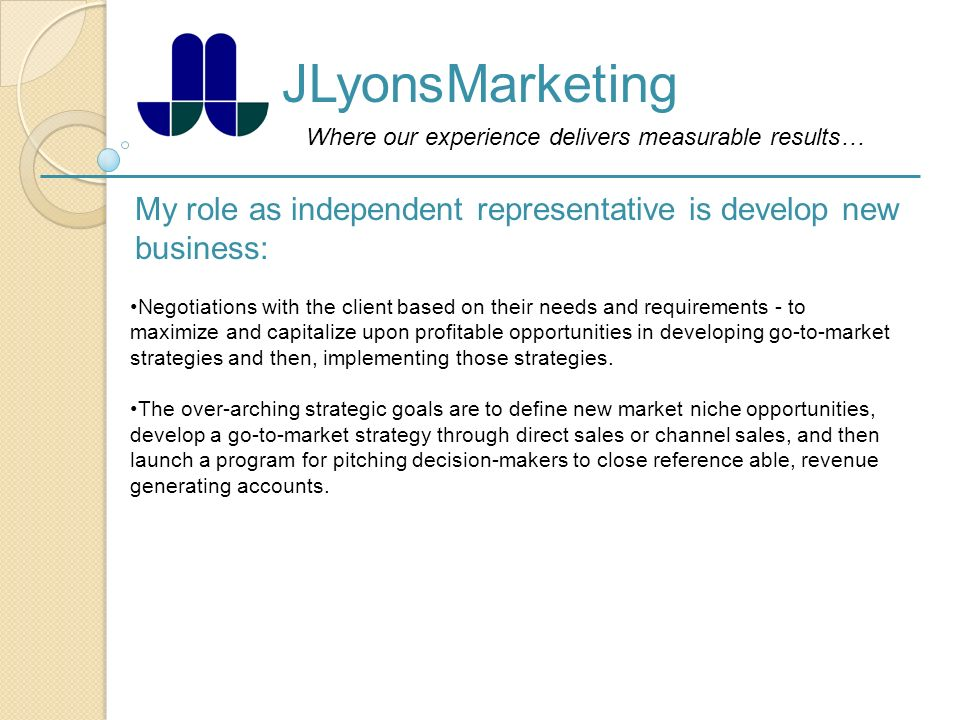 Where our experience delivers measurable results
