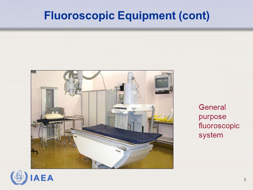 IAEA International Atomic Energy Agency Fluoroscopy