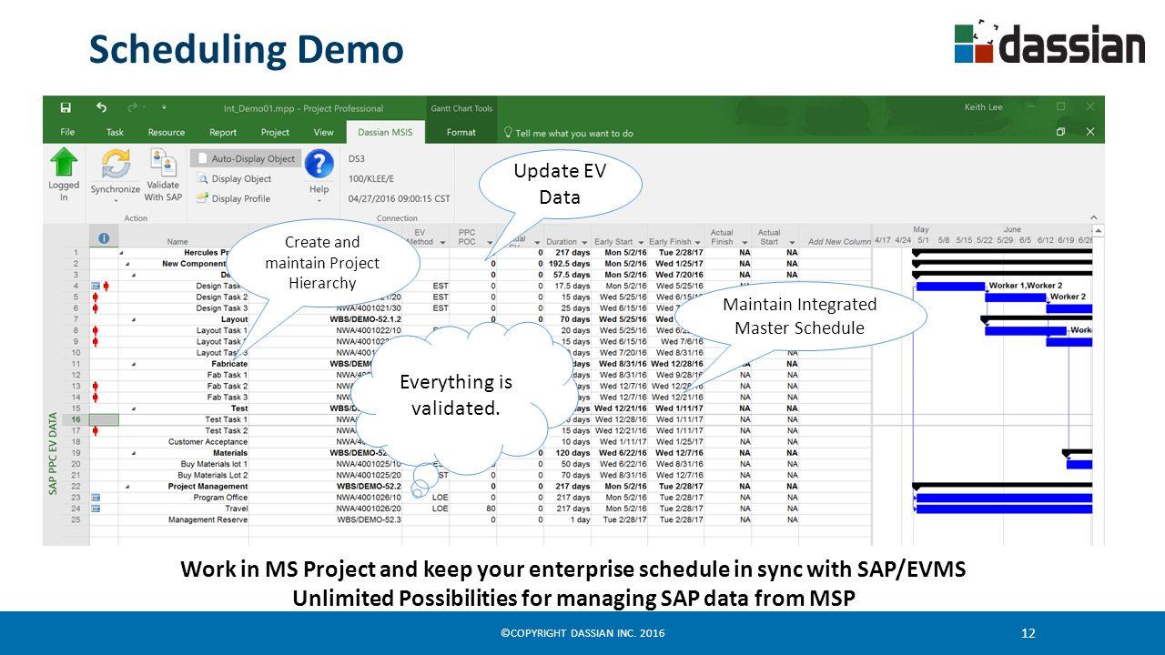 Webinar Ii Enterprise Ipm Schedule Integration Solution Ppt Download