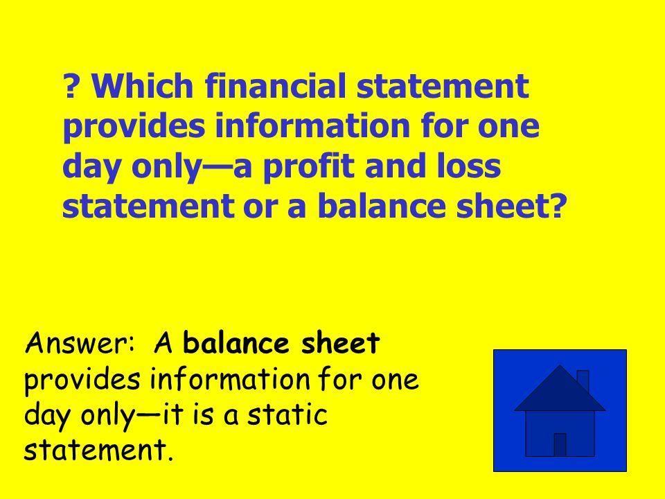 Profit and Loss Statement Balance Sheet Ratio Analysis Working