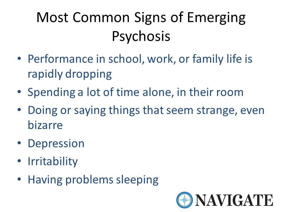 Emerging Psychosis When To Worry About >> First Episode Psychosis And The Navigate Treatment Model In Oklahoma