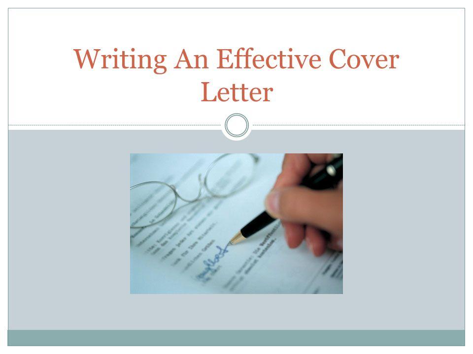 zebranet cover letter