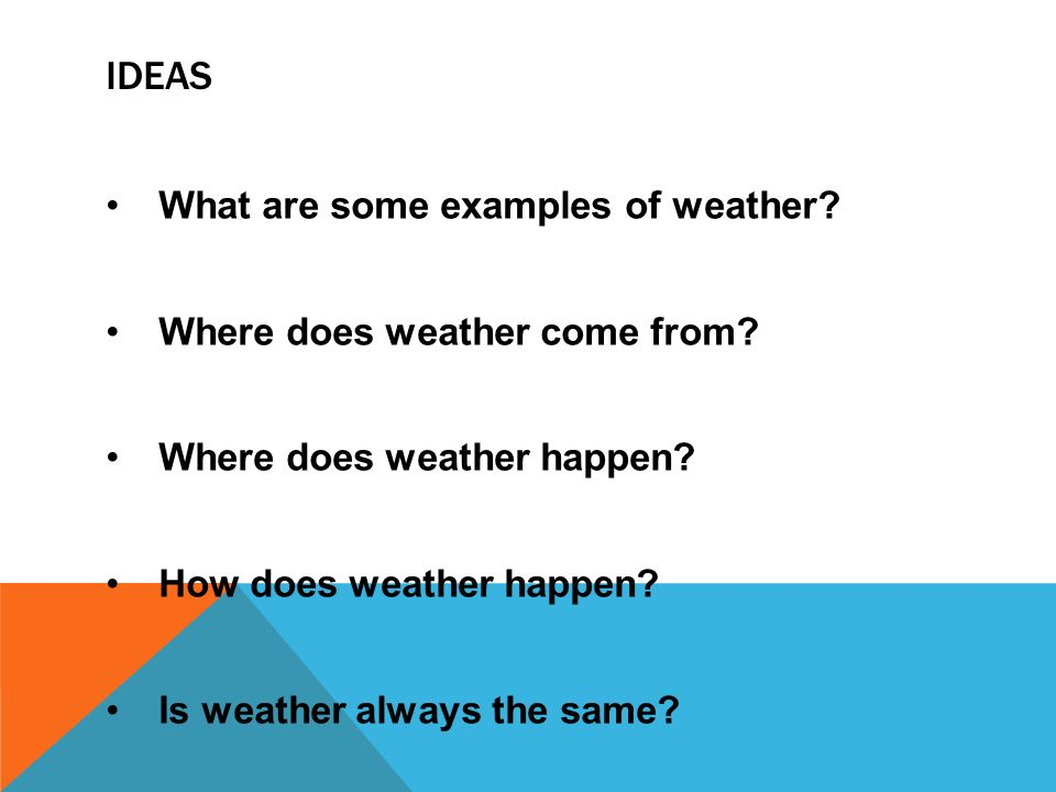 Weather Maps Ideas What Are Some Examples Of Weather Where Does