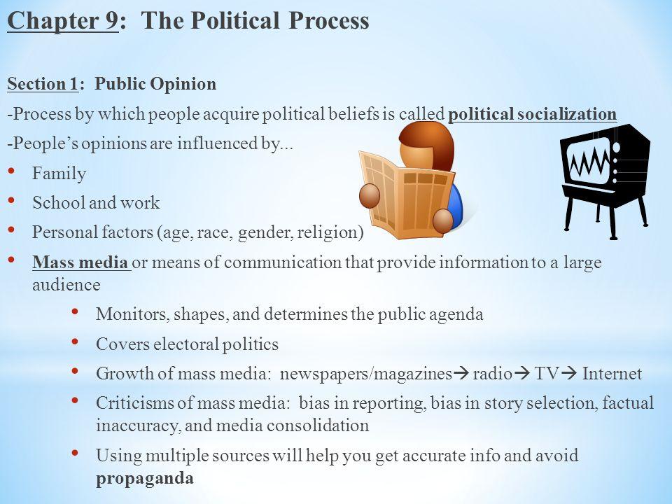 media influence on public