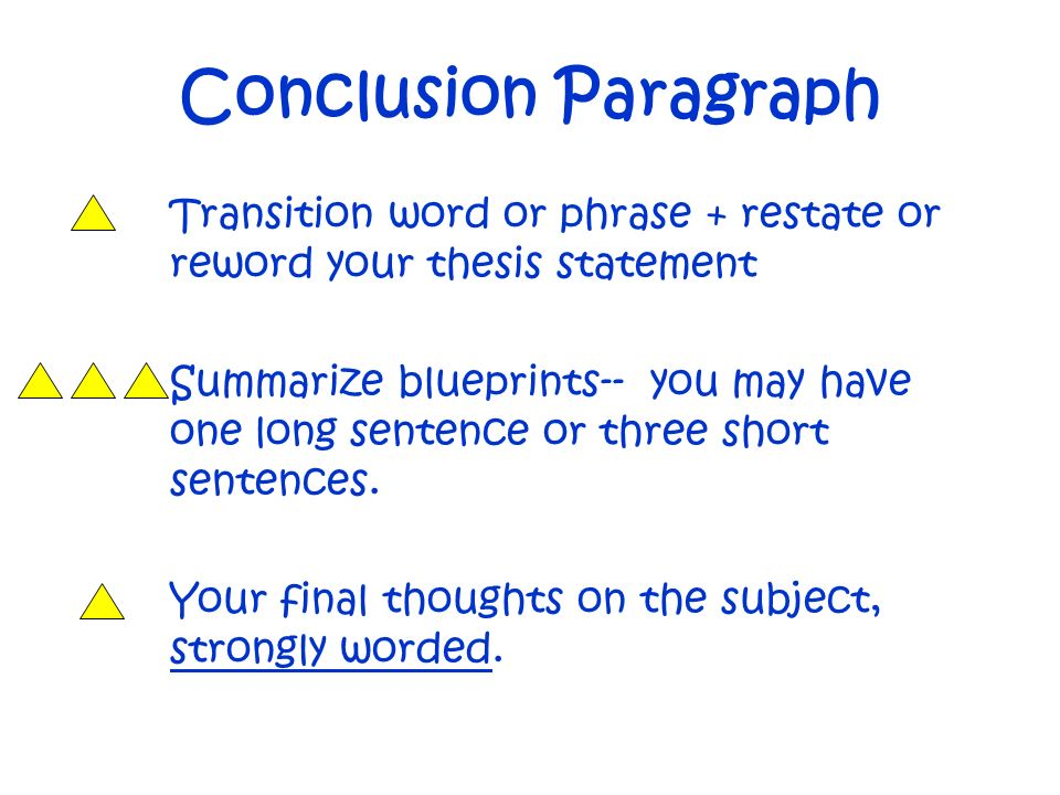 closing paragraph transitions