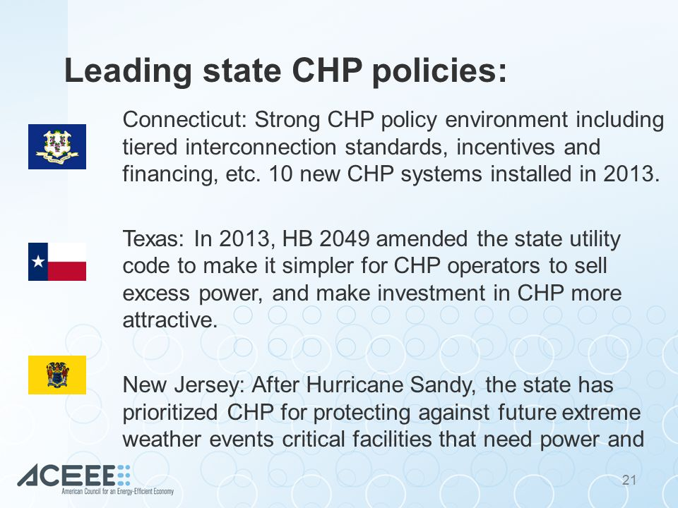 Combined Heat and Power (CHP) and the Clean Power Plan Dan