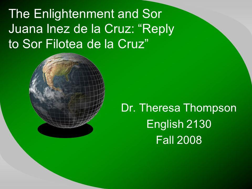 reply to sor filotea