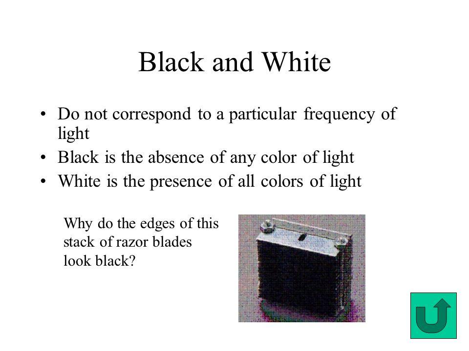 color the color spectrum roy g biv black and white solar spectrum