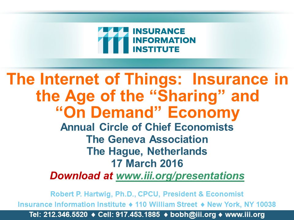 The Institutes To Add Insurance Information Institute To Its Affiliates Roster