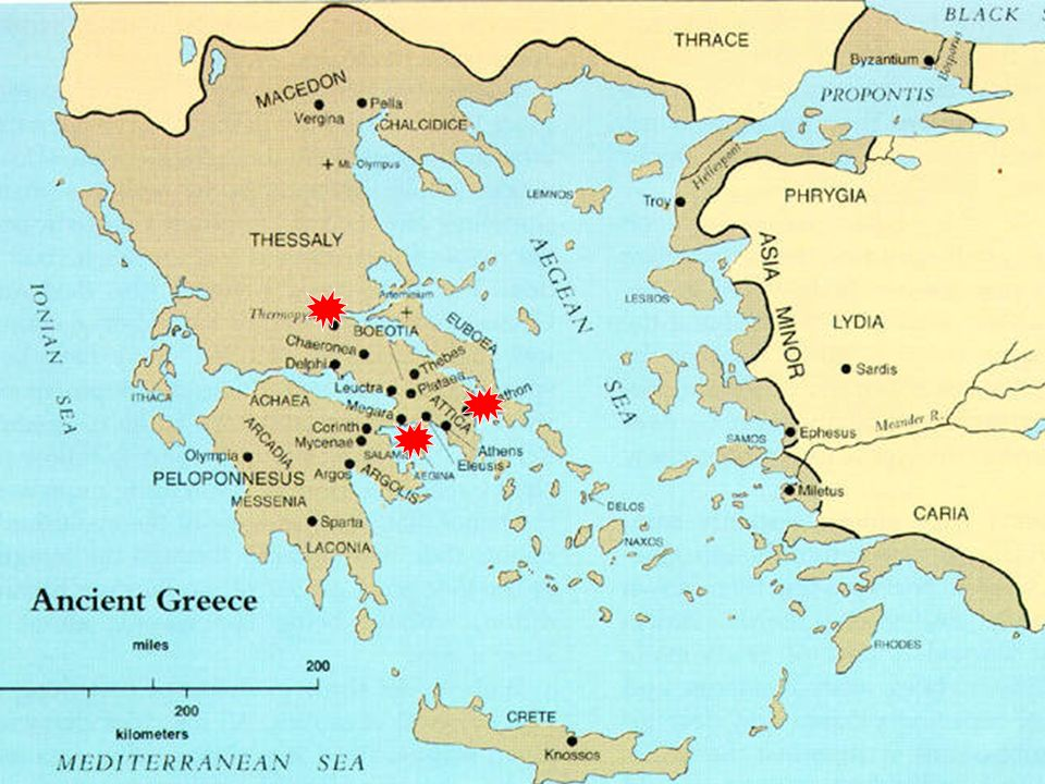 Ancient Greece World History I Historical Background The Island Of