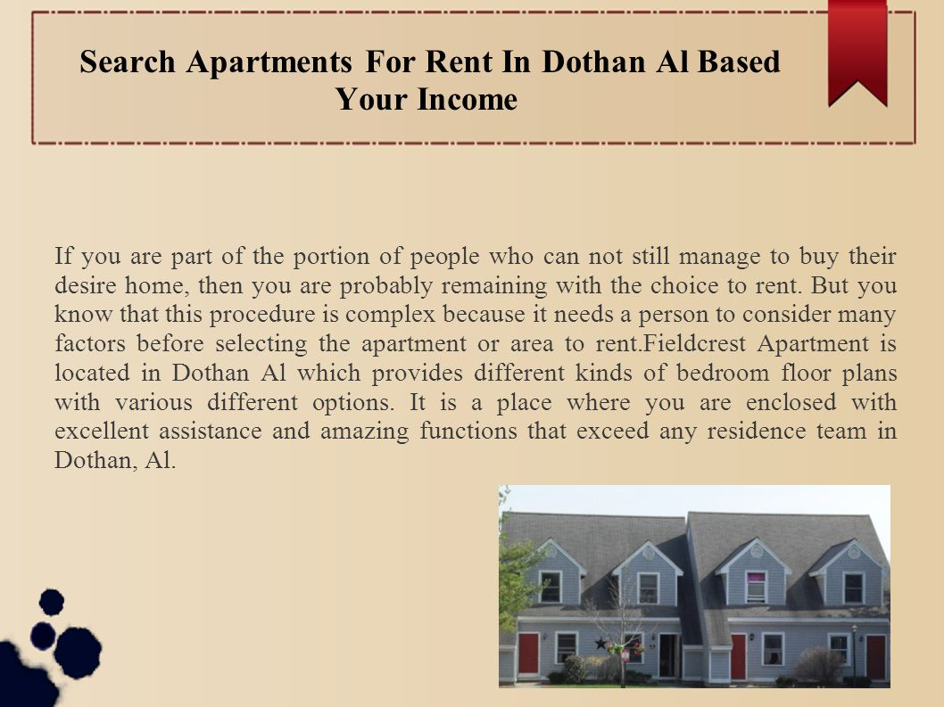 Search Apartments For Rent In Dothan Al Based Your Income If You Are