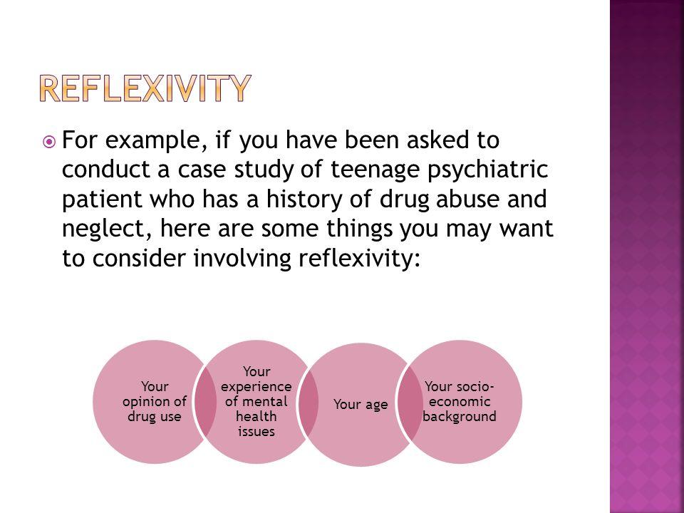 Triangulation Reflexivity Credibility   1) To understand what