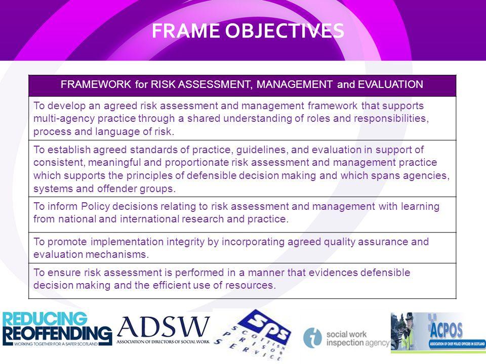 agreed risk assessment processes