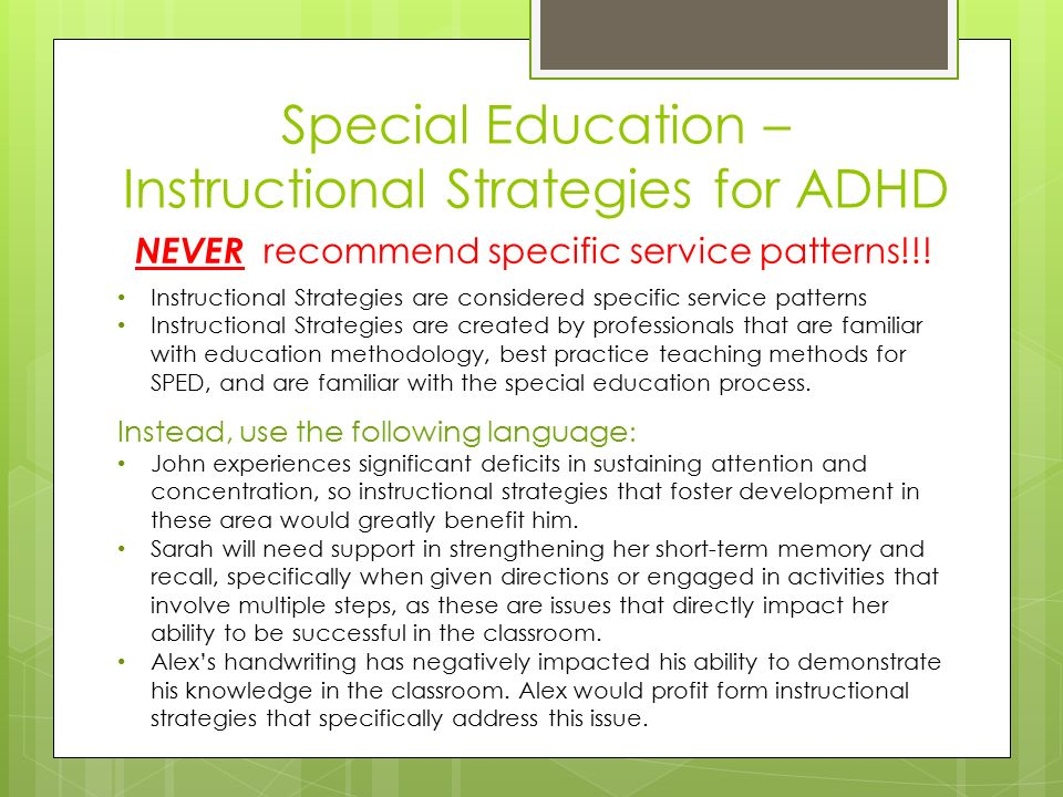 Working Effectively With Utah Schools For Clients With Adhd Crisjon