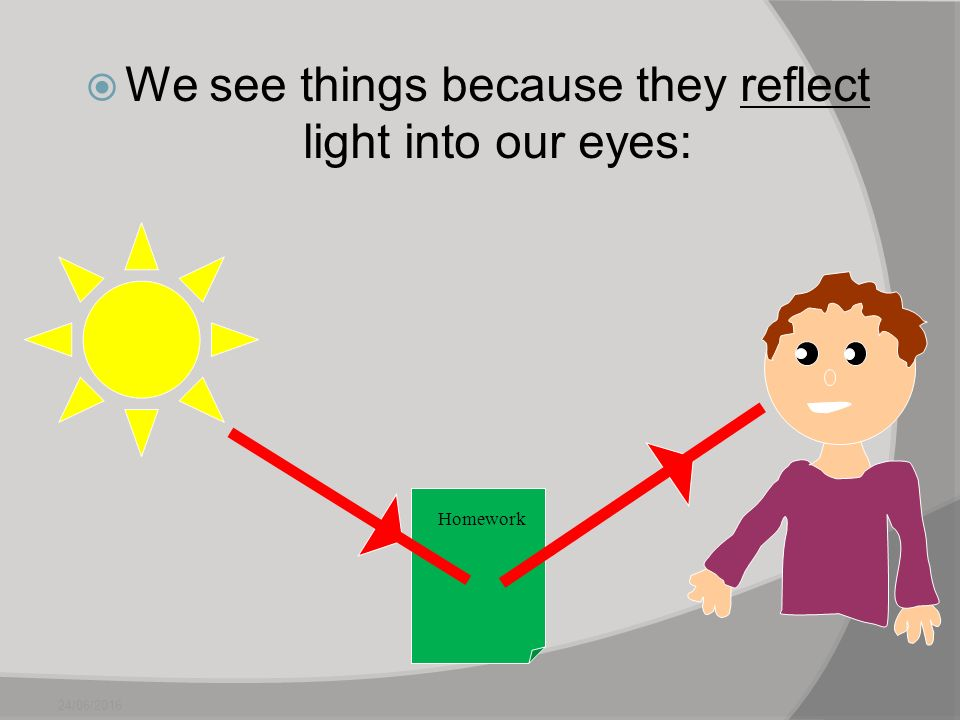 Image result for light and how our eyes see year 6