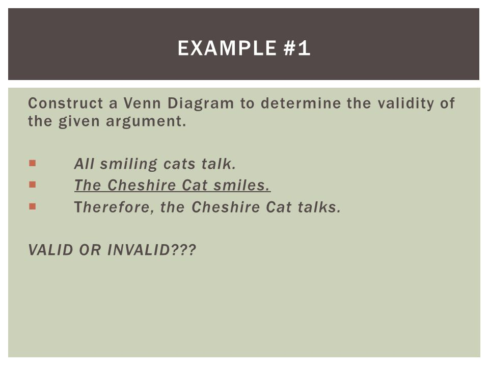 Use of reason and logic rationalism a rationalist approach to example 1 construct a venn diagram to determine the validity of the given argument ccuart Choice Image