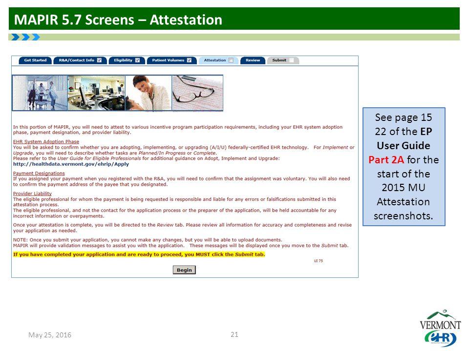 mapir 5 7 walk through vermont medicaid electronic health record rh slideplayer com PC User Clip Art cms ehr incentive program attestation user guide