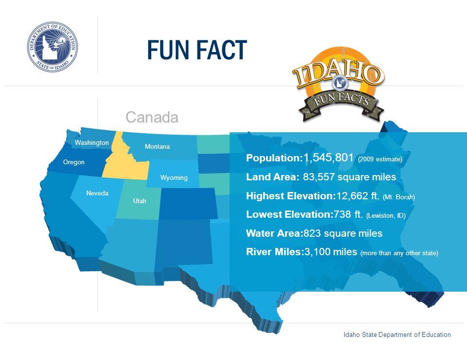 Utah Department Of Education >> Idaho State Department Of Education Montana Wyoming Oregon