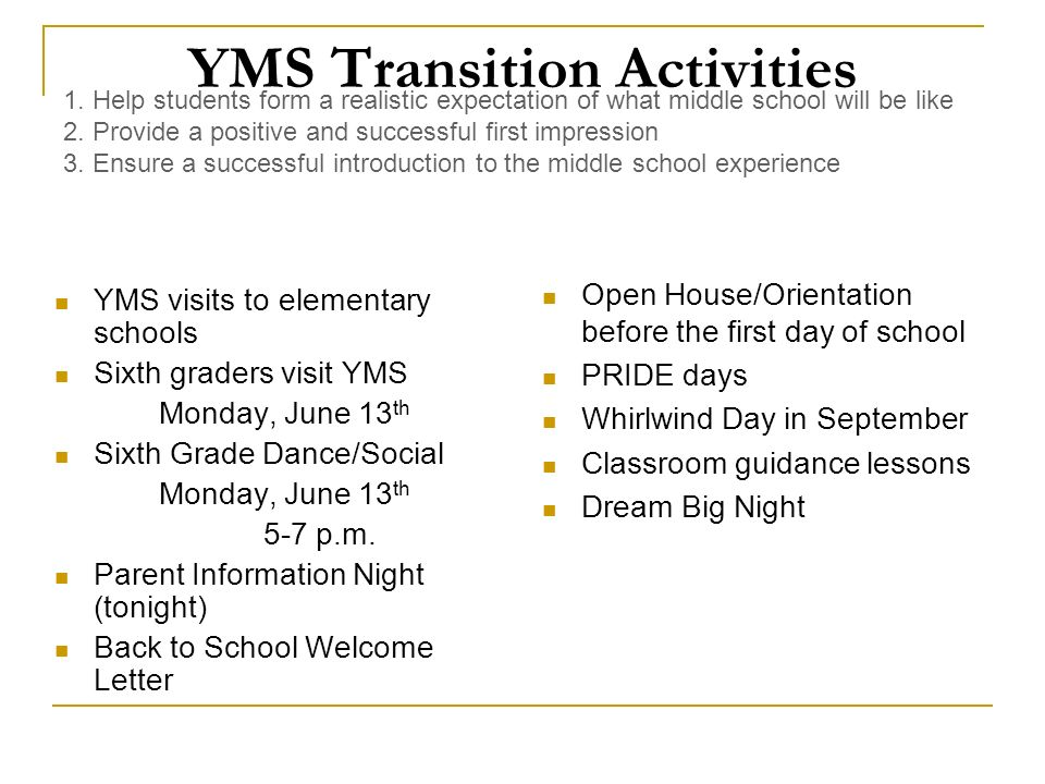 Parent Information Night May 26 th, P Positive Attitude: To be