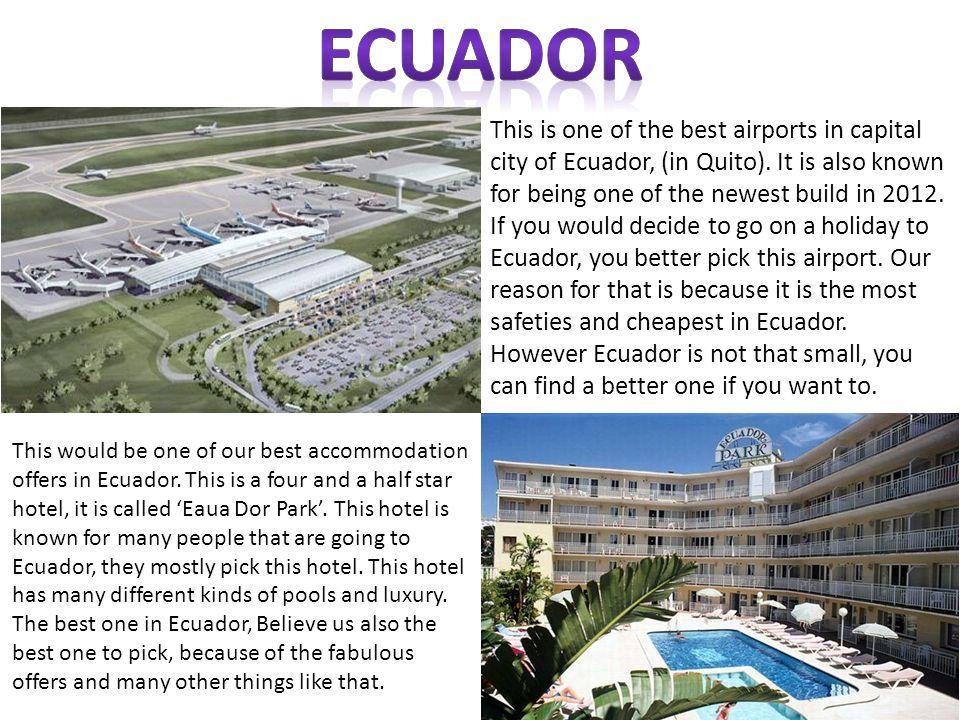 Ecuador National Team Ecuador Capital City QUITO  - ppt download