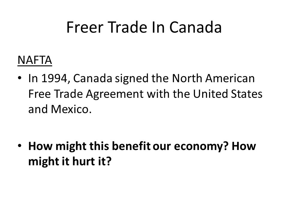 an essay on the north american free trade agreement The most controversial agreement of the 1990's, the north american free trade agreement, better known as nafta, was signed in december 17 1992 where president bush (us), president salinas (mexico) and prime minister mulroney (canada.