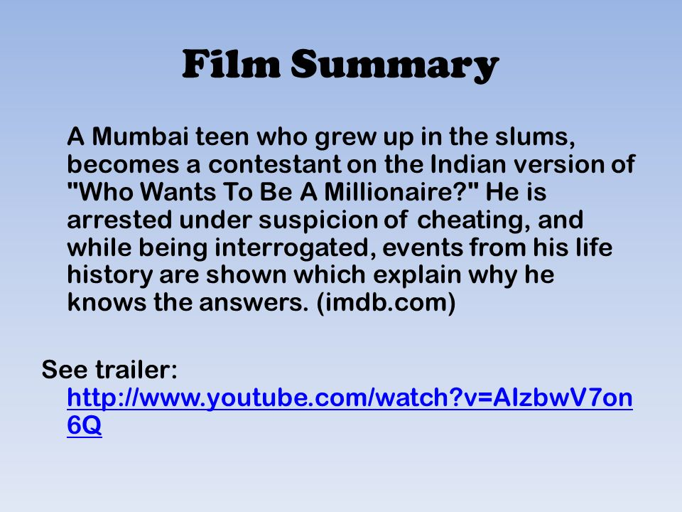 Examples Of Thesis Statements For English Essays  Thesis For Argumentative Essay also Personal Essay Samples For High School Slumdog Millionaire Essay Film Techniques Health Essay
