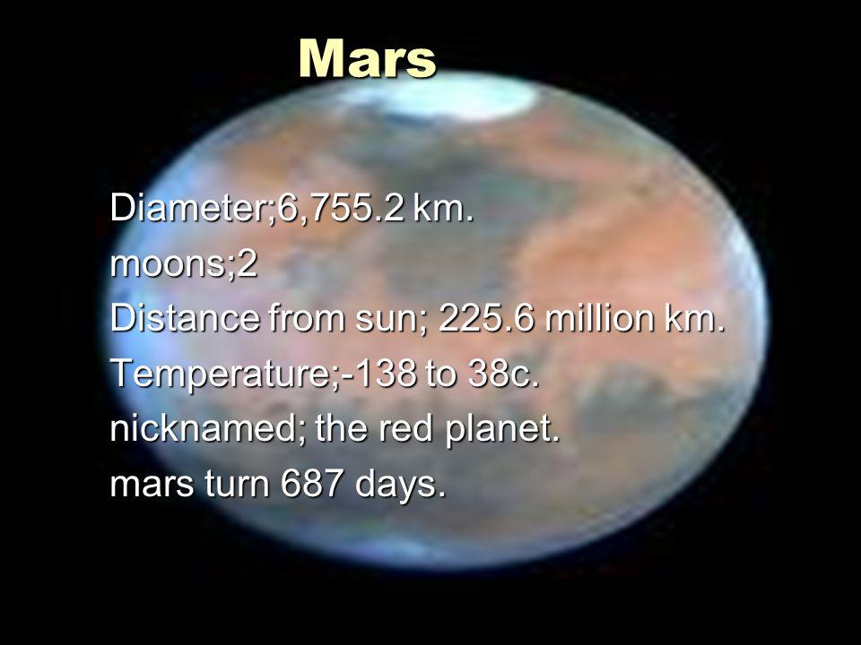 mars moons diameter - 960×720