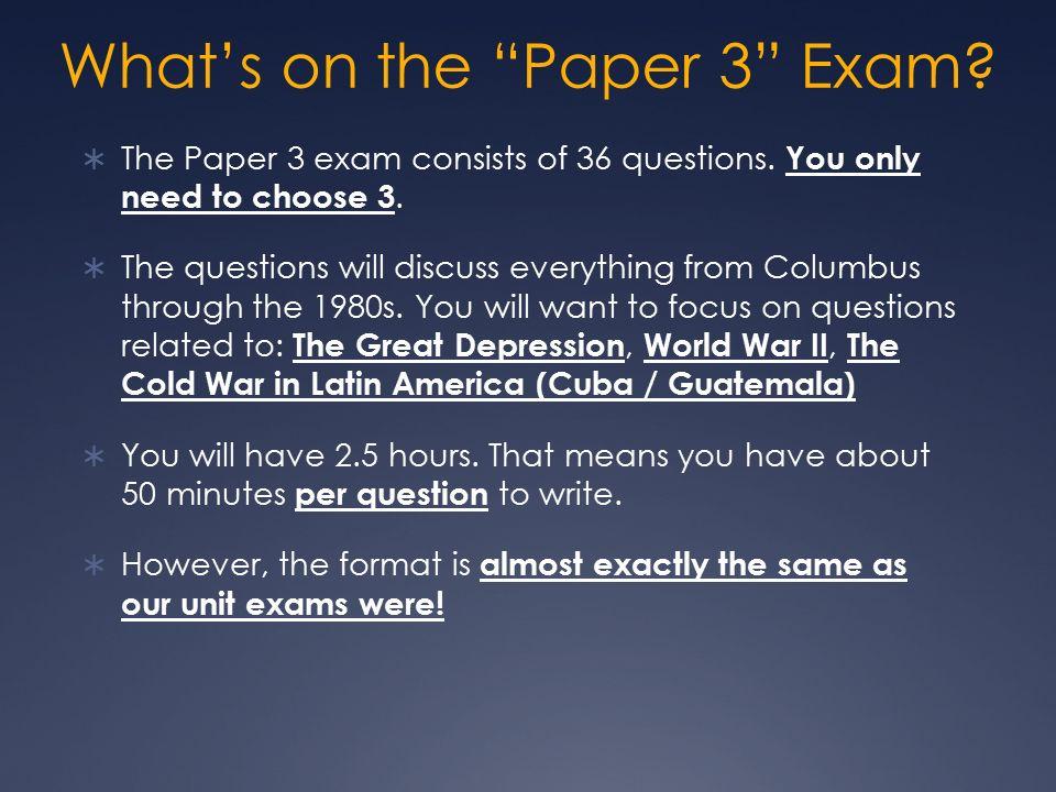 sample ib history paper 3 questions
