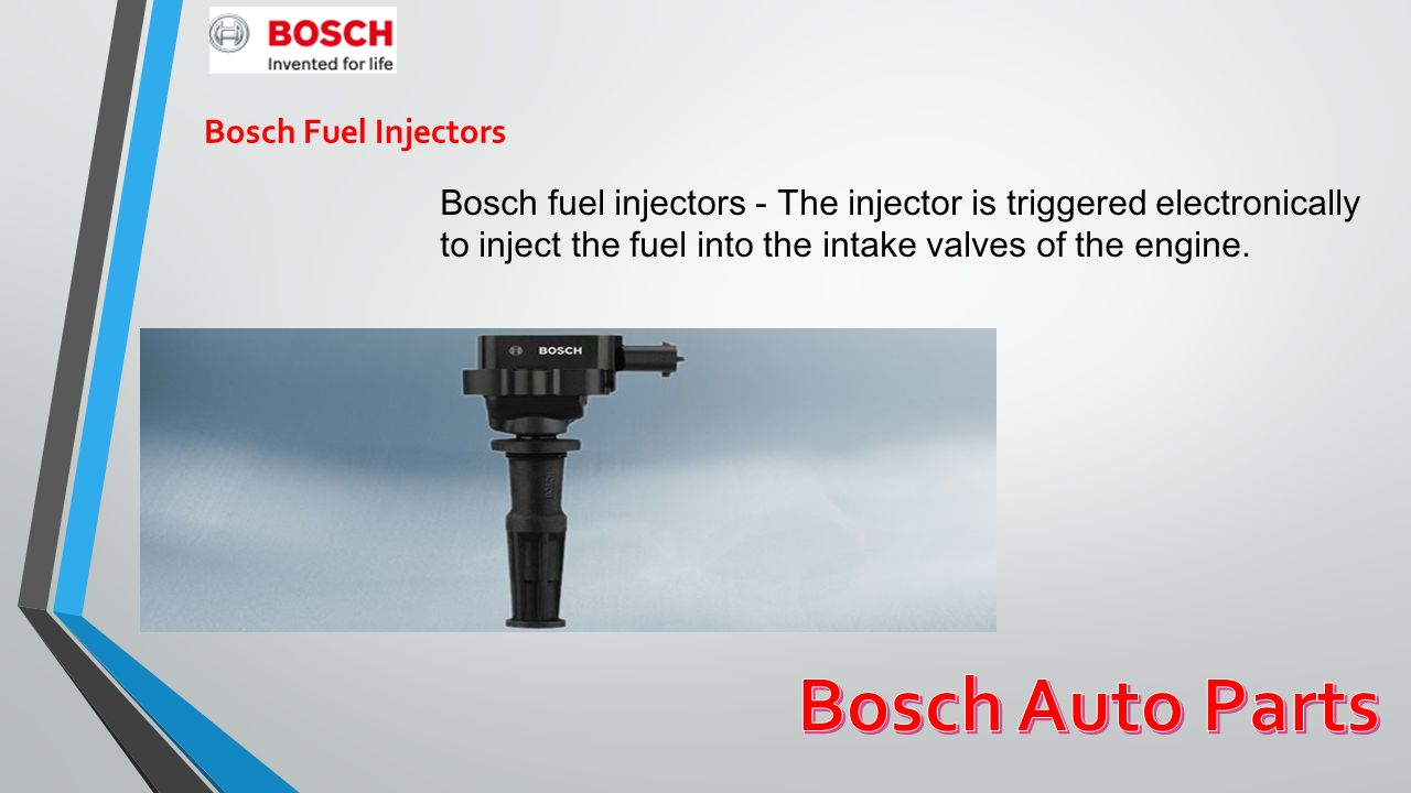 Bosch presents automotive products, service parts, automotive ...