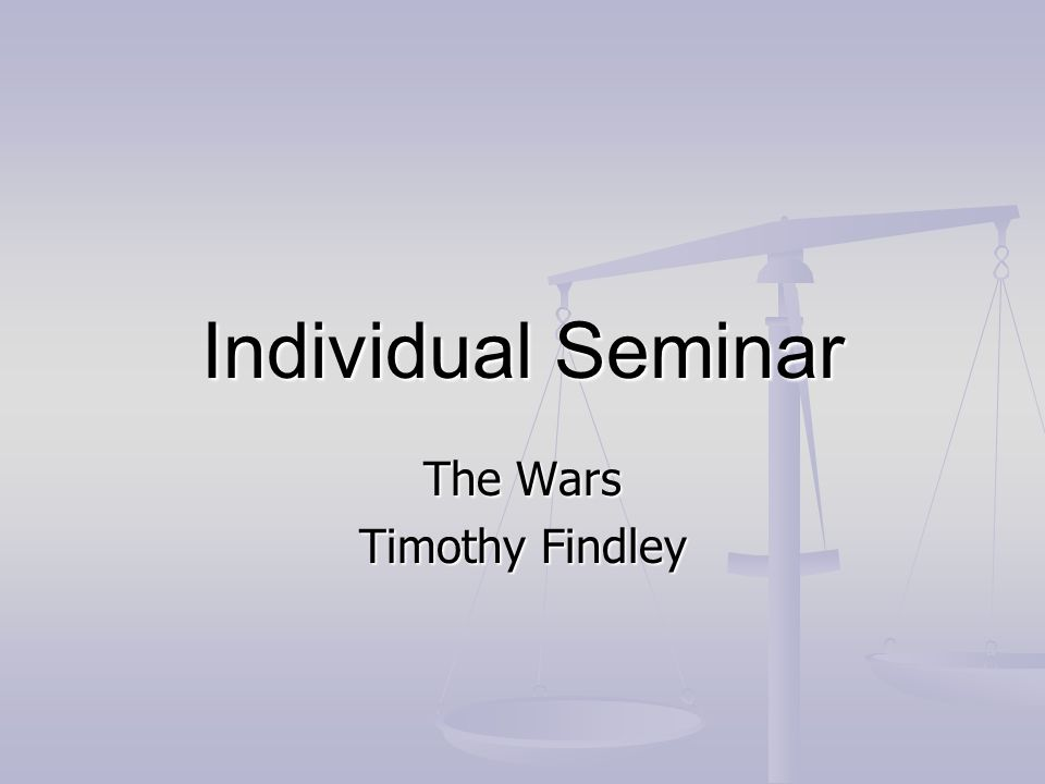 the wars timothy findley sparknotes