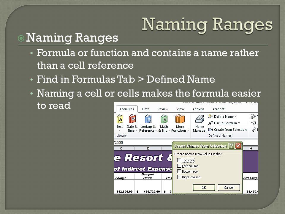 Pmt Function Vlookup Function Excel Database   Naming a