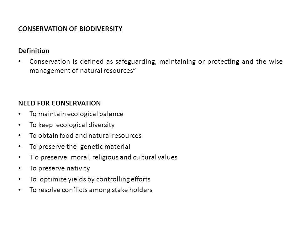 define ecological balance