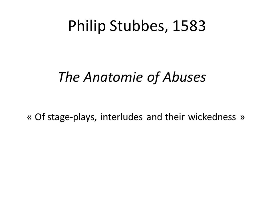 English Theatre History The 16th and 17th Centuries. - ppt download