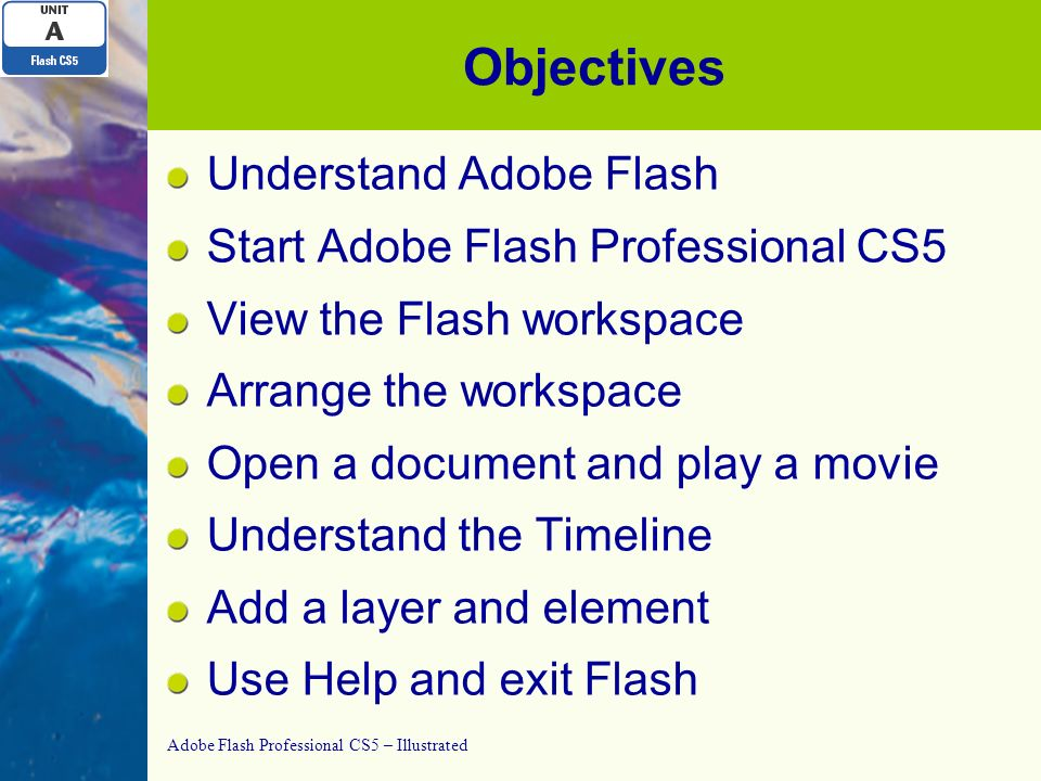 adobe flash professional cs5 – illustrated unit a: getting started, Flash Cs5 Presentation Template, Presentation templates